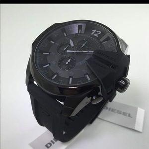 Mens Black Diesel Watch 10Bar